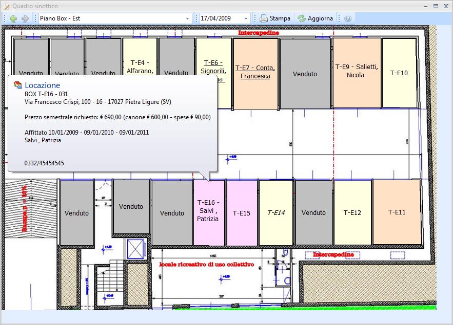 Datos gestione affitti dettagli for F24 elide prima registrazione